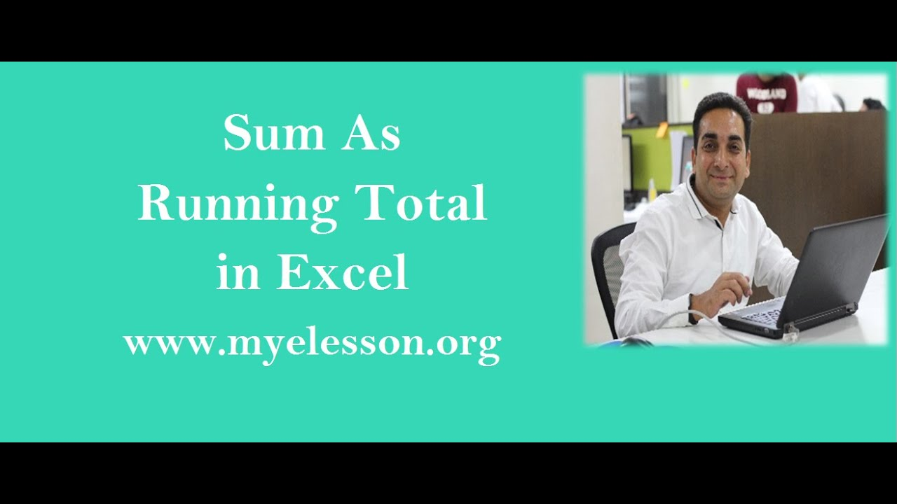 how to use excel to calculate total