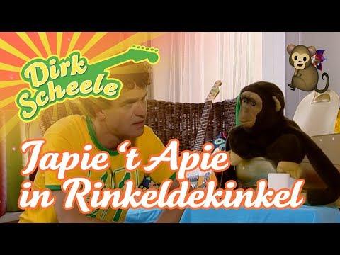 Dirk Scheele - Apen Rinkeldekinkel   Huis-, tuin- en keukenavonturen
