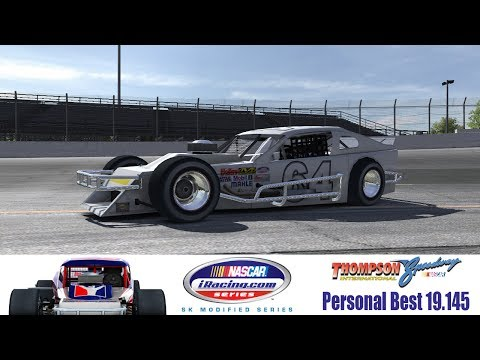 iRacing: SK Modified At Thompson - Personal Best Laptime 19.145
