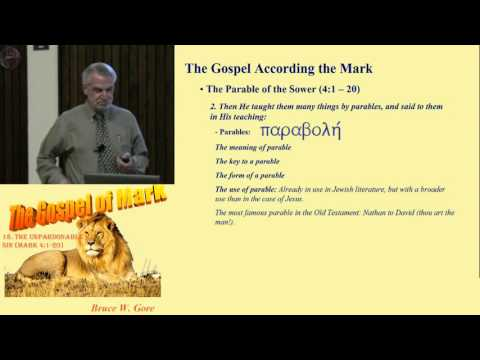 18. The Parable of the Sower (Mark 4:1-20)