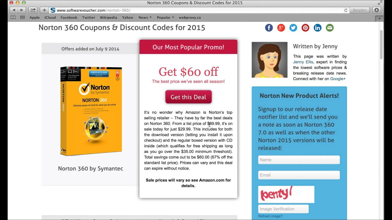 norton 360 premier coupon code renewal