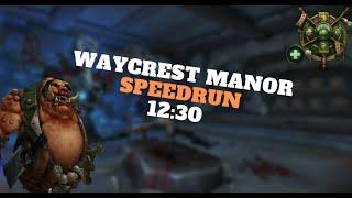 SPEEDRUN +21 Waycrest Manor - MDI Finals 2020 - Zmok Mistweaver Monk