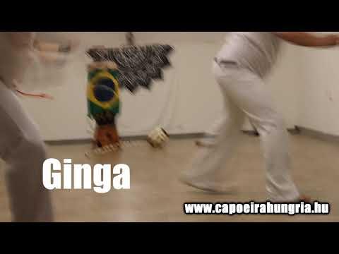 Ginga - a capoeira alaplépése