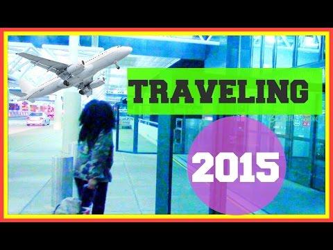Airplane / Traveling: Makeup, Hair & Outfit 2015!! Mensahgurl