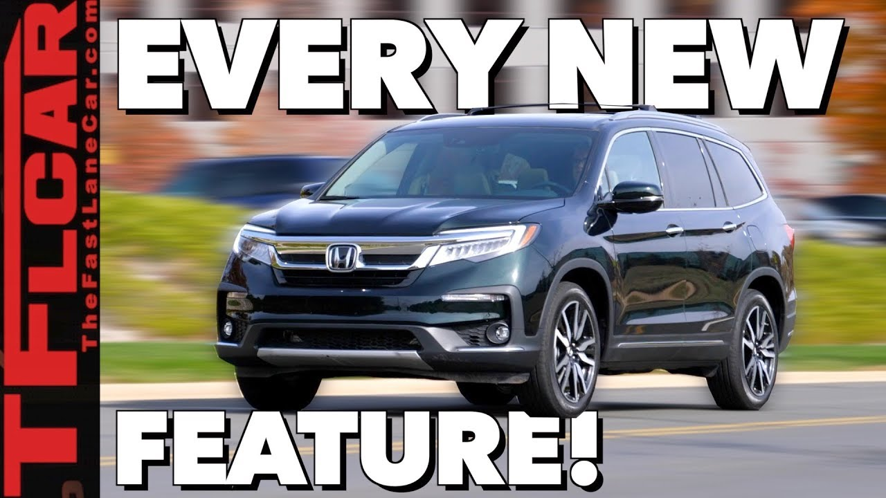 2019 Honda Pilot Review: What's New And What's Not? - The
