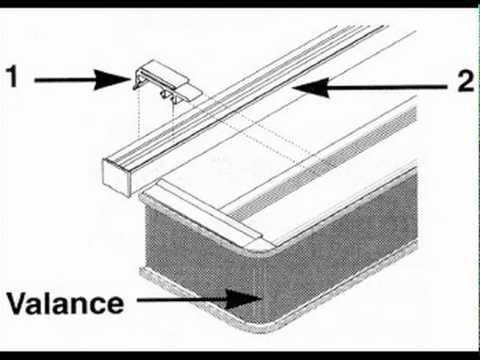 Vertical Blind Valance Replacement Parts Reviewmotors Co