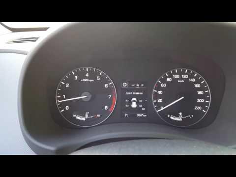 Hyundai Creta давление в шинах