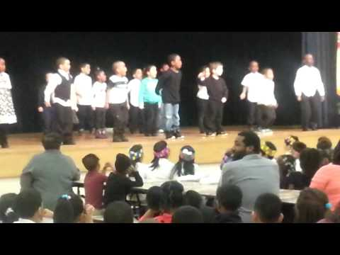 Gavin at Emerson School Play