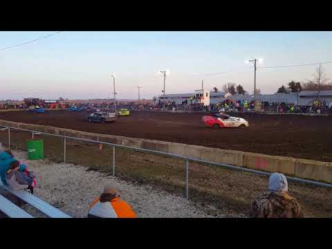 Joe Kane memorial race full size weld 2018 figure 8 stronghurst il