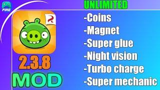 Bad piggies Mod Apk v2.3.8 (unlimited coins,gluue,magnet) Gamefire mods(mediafire link) 2021 screenshot 3
