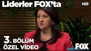 HDP'nin ekonomik vaatleri ne? Liderler FOX'ta 3. Bölüm | Pervin Buldan - Sezai Temelli