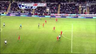 Newcastle 3 1 Liverpool Carroll