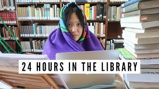 spending 24 hours in the library // University of Oxford | viola helen