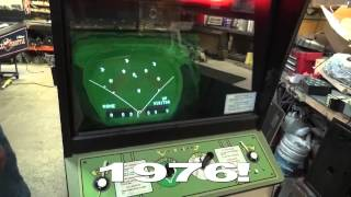 Bally Midway TORNADO BASEBALL 1976 Vintage Arcade Video Game TNT Amusements