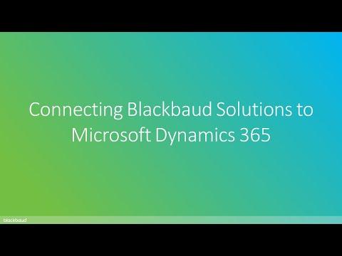 Konektis | Connecting Blackbaud Solutions to Microsoft Dynamics 365