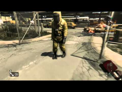 Flying Zombie Fireworks - Dying Light