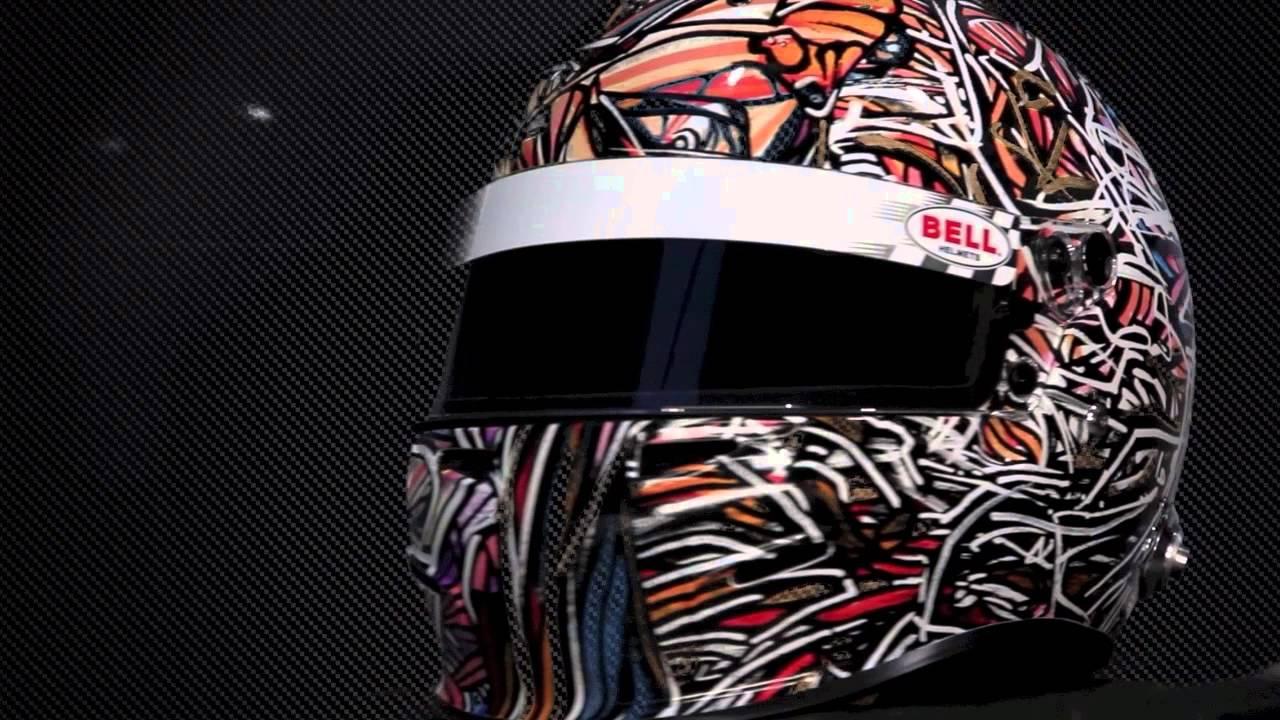 Bell Racing Helmets >> StickySigns Helmet Wrap Art - YouTube
