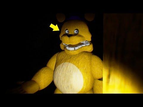 FREDBEAR HAS HUMAN EYES… HE'S CHASING AFTER ME! | FNAF Those Nights at Fredbear's Reboot