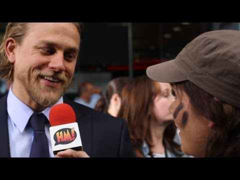 Pacific Rim London premiere - we chat to the stars about giant robots and nudity