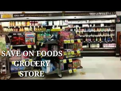 BUYING GROCERIES / EDMONTON SAVE ON FOODS / GROCERIES & FOOD STORE ( COOKED FOOD )