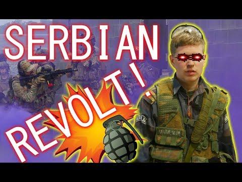 SERBIAN REVOLT After GAY WEDDING [Milsim West: The Grozny Insurgency] Kox News, Part 2