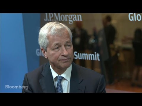 JPMorgan's Dimon on China, Paris Accord, U.S. Economy
