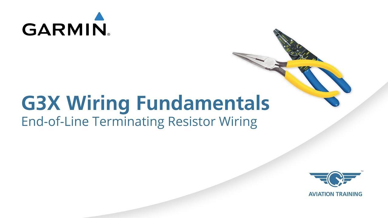 Garmin G3X Wiring Fundamentals Series – End-of-Line Terminating Resistor Wiring - Dauer: 3 Minuten, 14 Sekunden