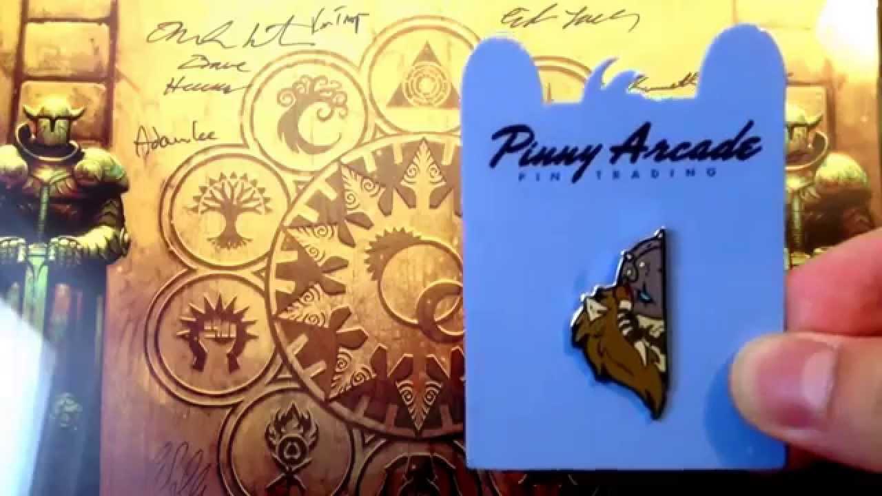 giveaway pax east garruk pinny arcade pin youtube