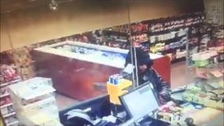 Robbery of Sam's Grocery Store on Surveillance Footage