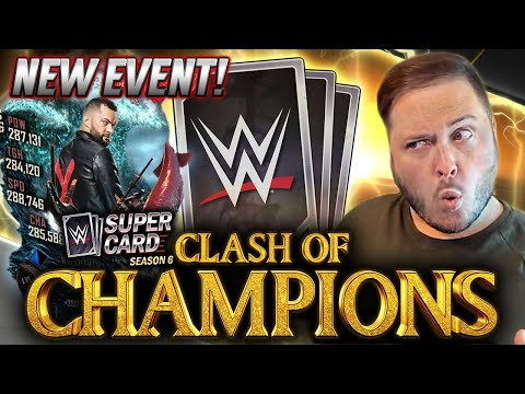 *NEW* CLASH OF CHAMPIONS EVENT REVEALED - PCC 2!! WrestleMania 36 FUSIONS!   WWE SuperCard