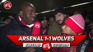 Arsenal 1-1 Wolves | The Job At This Club Is Too Big For Emery!