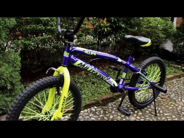 BMX Military Clip X