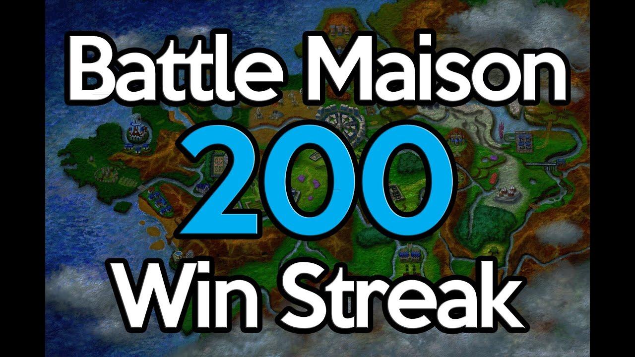 Pokemon X and Y - Battle Maison 200 Win Streak Team