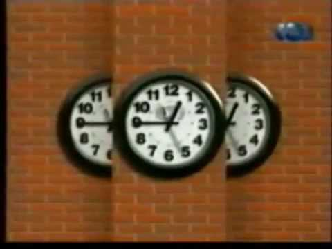 Основная заставка с часами и с колесами ТНТ 1998 2002