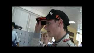 Michael Lewis Wins - Interview F3 Euro Series Valencia 2012