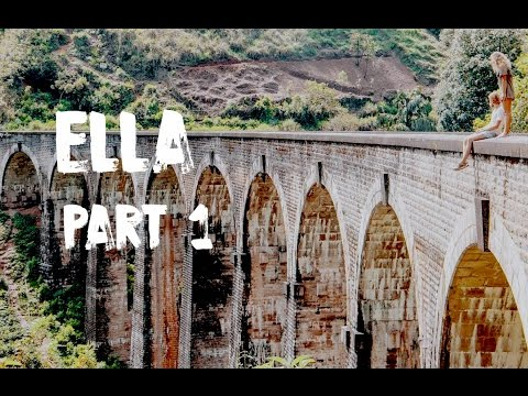 ELLA, SRI LANKA 2017 - THIS PLACE IS AMAZING! | VLOG #36