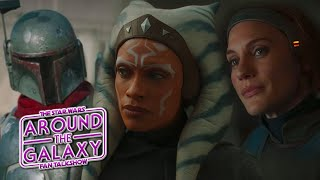 Casual Star Wars Fan Reacts to Ahsoka, The Mandalorian | Around the Galaxy