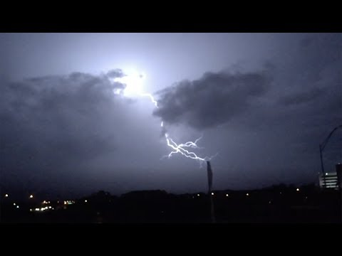 INCREDIBLE LIGHTNING - 240FPS IPHONE 6 SLOW MOTION!
