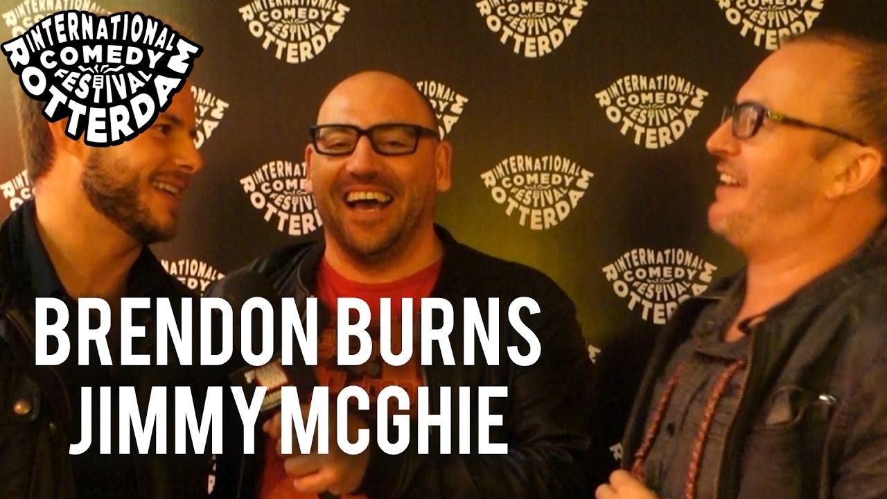 ICFR -  Brendon Burns & Jimmy McGhie Interviewed by Wilko Terwijn