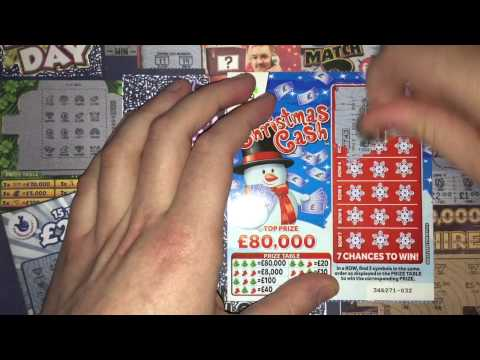 Christmas Special Scratchcards from The National Lottery 2015 © (70)