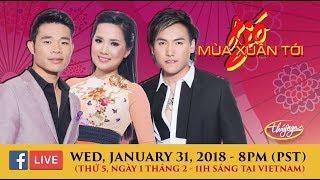 Livestream với Ngọc Ngữ, Hoàng Nhung, Tuân Quỳnh (Jan 31 2018)