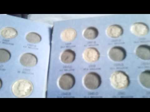 My us silver coin albums.