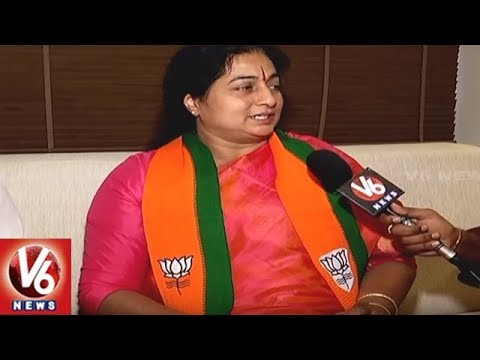 Padmini Reddy Face To Face, Reveals Reason Behind Joining BJP | V6 News