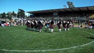 City of Nelson Highland Pipe Band - 1st Place Grade 4A Medley