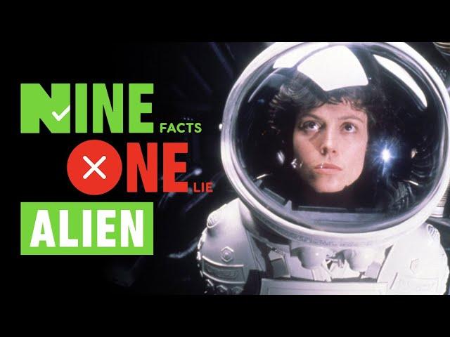 9 fatos, 1 mentira: o estrangeiro de Ridley Scott + vídeo