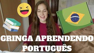 Baixar GRINGA APRENDENDO PORTUGUÊS // LEARNING PORTUGUESE WITH SPEAKING BRAZILIAN LANGUAGE SCHOOL