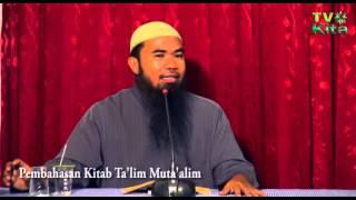 Video Kajian Ta'lim Muta'alim Ustadz Mochamad Taufiq bin Badri, Lc 5 download MP3, 3GP, MP4, WEBM, AVI, FLV November 2018