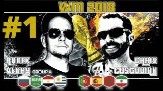 WM-Tipps 1. Spieltag Gruppe A & B: Prognosen und Vorhersagen für Russland, Uruguay Marokko, Spanien