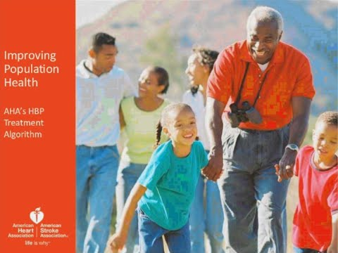 The American Heart Association's High Blood Pressure Treatment Algorithm Training