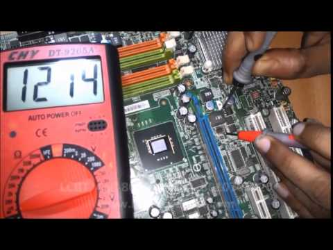 how to confirm North Bridge /GMCH Faulty at LCIIT laptop chip level repairing institute in Delhi